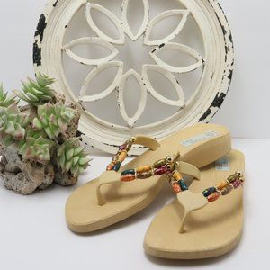 Palm Harbor Jeweled Sandals